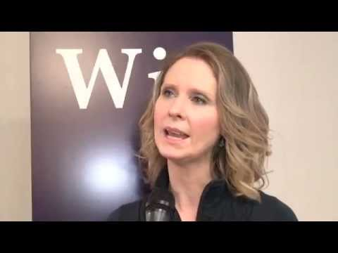 WIT's Cynthia Nixon & Lynne Meadow Meet the Press