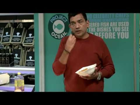 Sanjeev Kapoor at Selfridges Cooking Demo Project Ocean May 2011