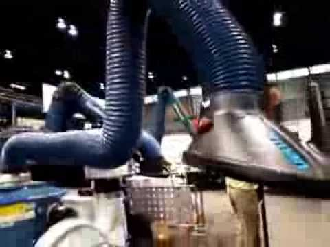 Welding Fume Extractors by Nederman - Portable and Versatile...practical