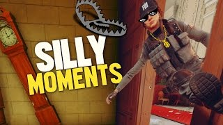 Rainbow Six Siege - Silly Moments Montage! (Big Fails, LOLS, Funny Kills & Rounds)