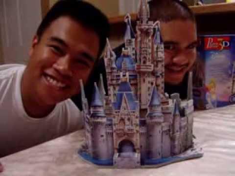 the 3d puzzle cinderella s castle   youtube