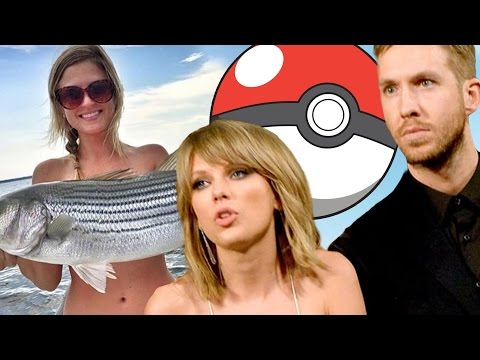 Taylor Swift & Calvin Harris Drama! Pokeman Go Rules & What is a Fish Bras? (New Show)