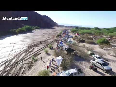 Mirá el paso del Dakar 2017 por San Rafael, desde un dron
