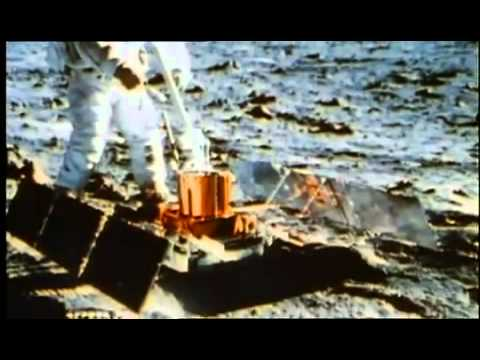 NASA Astronaut Neil Armstrong Films Alien Base On The Moon [1 Of 2]