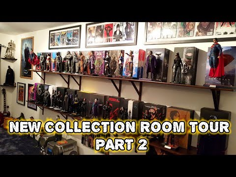 NEW HOT TOYS FIGURE COLLECTION ROOM TOUR PART 2