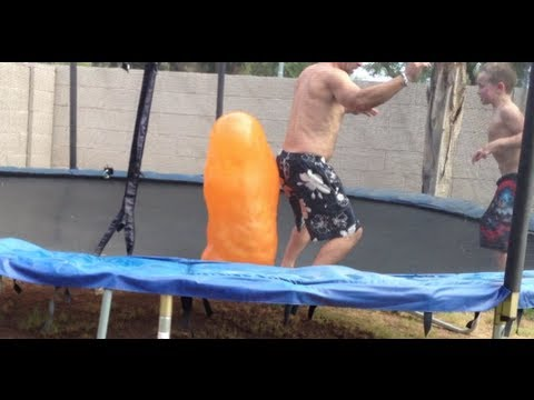 Giant morphing water balloon! (hilairious...lol)