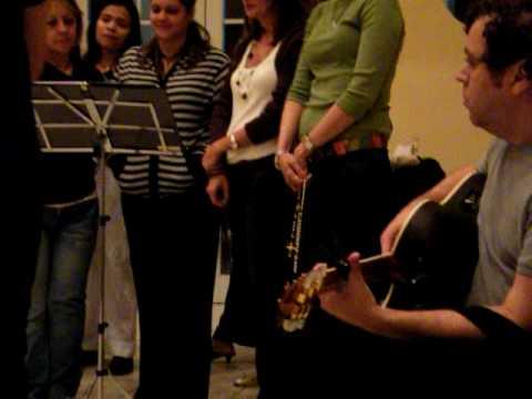 Canción a la Virgen María (Rosario a la Rosa Mística. Marzo, 25 de 2009)