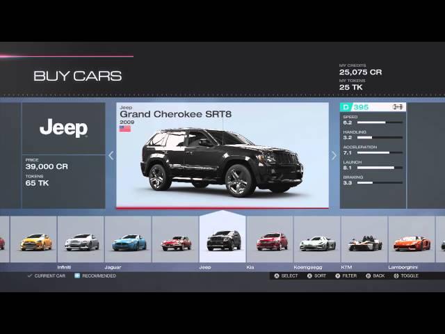 Forza Motorsport 5 Full Car List