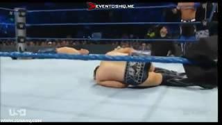 John Cena & Dean Ambrose vs Aj Styles & The Miz SmackDown Live, 13 De Septiembre 2016 En Español
