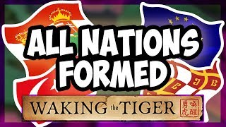 HOI4 | What Happens When You Form All The Nations In Waking The Tiger? [Hearts of Iron 4]