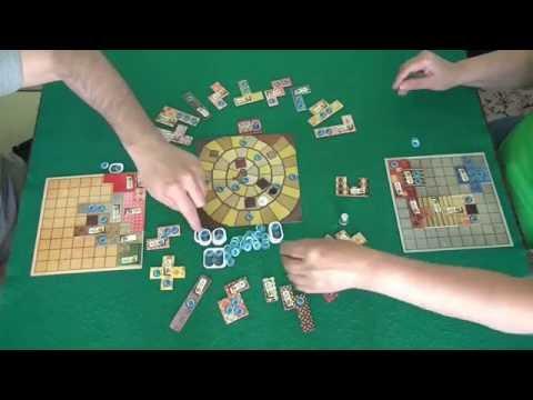 Пэчворк - играем в настольную игру