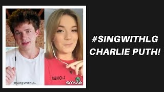 Attention - Charlie Puth (#SingWithLG)   Em Rossi Smule Cover