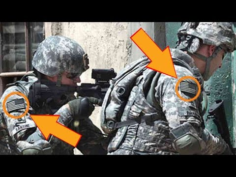 Why Is The Flag On A Soldier's Uniform In Reverse