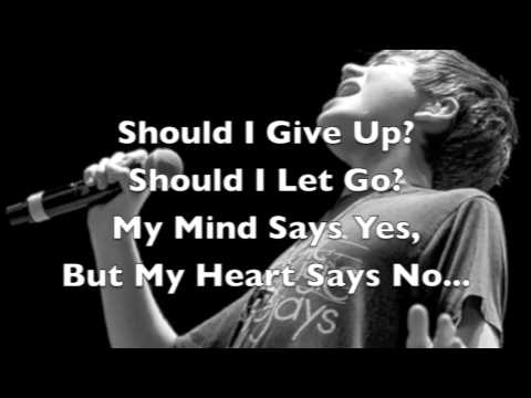 Slipping Away - Greyson Chance lyrics Studio Version