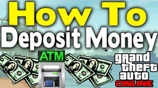 GTA Online - HOW TO DEPOSIT MONEY (ATMs Explained) [GTA V Multiplayer Tips & Tricks]