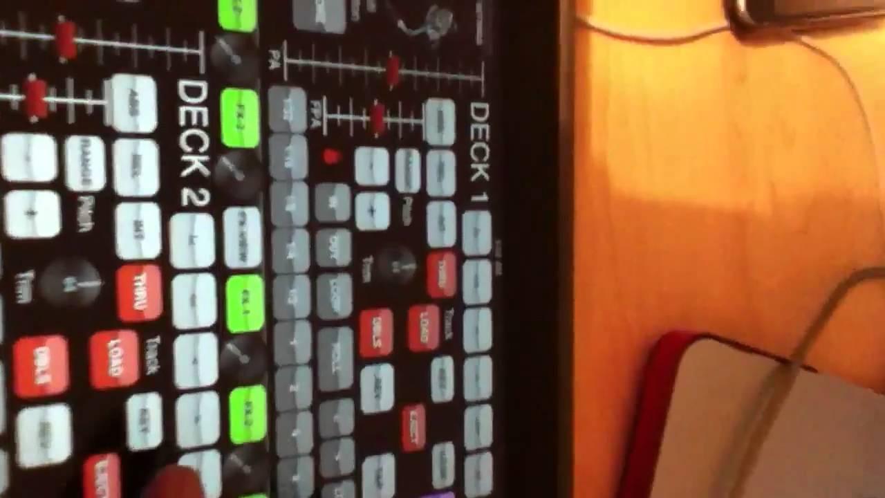 Midi Deck Ipad dj Blesz Ipad Serato Midi Deck