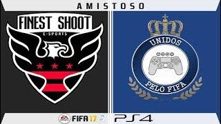 LIVE - Amistoso -- Finest Shoot ES x Unidos pelo FIFA