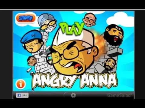 Angry Anna Came To Fight Against Corruption