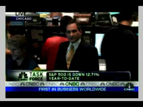 Rick Santelli calls for Tea party on Floor of Chicago Board of Trade