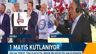 Genel Başkanımız Ramazan AĞAR NTV 1 MAYIS Özel Canlı Yayın Konuğuydu