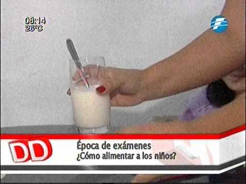 Recomiendan a niños consumir frutas y líquidos para un mejor rendimiento en los exámenes 27/10/2014