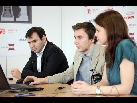 Grand Prix ajedrez 2013 Zug en Suiza Karjakin vs Mamedyarov Grand Prix ajedrez 2013