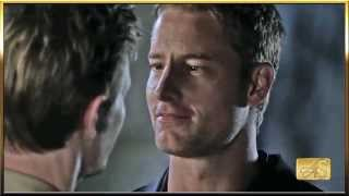 Justin Hartley's First Time Gay Kiss (1080p HD) Part 1