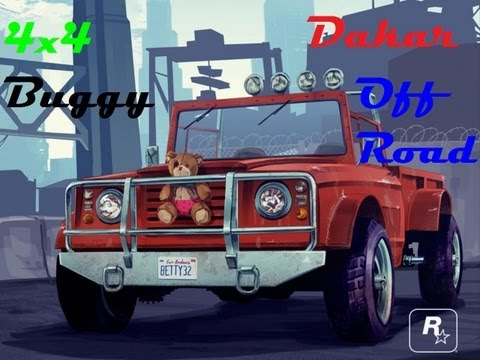 GTA V || 4x4 Dakar, Off Road, Buggy || Carrera todoterreno || PS3