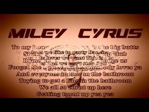 download lagu Milley Cirus - We Can't Stop  S  On Screen gratis