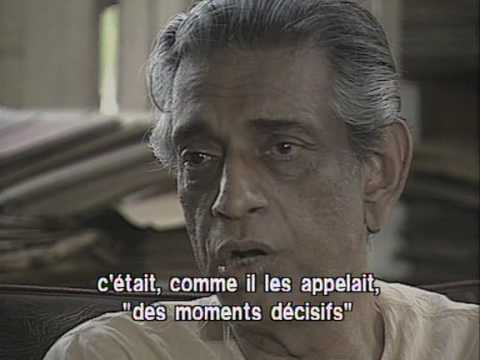 Satyajit Ray talking about Cartier-Bresson's influence on him in his first film