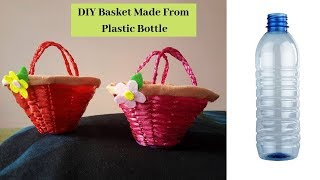 #PlasticBottleDIY #BottleCraftEasy #Handcraft Plastic Bottle Basket |  Aloha Crafts