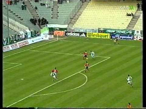 Rapid - GAK 2000/2001 Der Skandal um den Pfiff