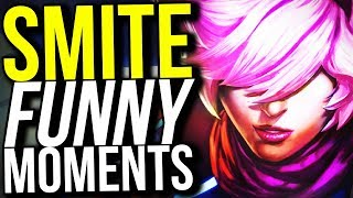 I AM SO DONE WITH THIS GAME! (Smite Funny Moments)