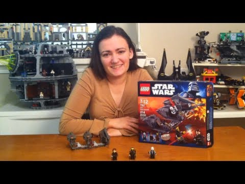 LEGO Sith Nightspeeder 7957 Star Wars Review