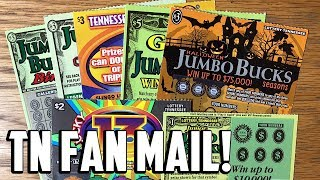 TN FAN MAIL! ✦ JUMBO BUCKS, Slingo + Lucky 13! ✦ TENNESSEE LOTTERY