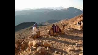 Egypt Mount St  Moses   Sinai sunrise