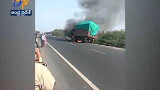 Road accident in Gujarat | 3 dead | lorry hits Car
