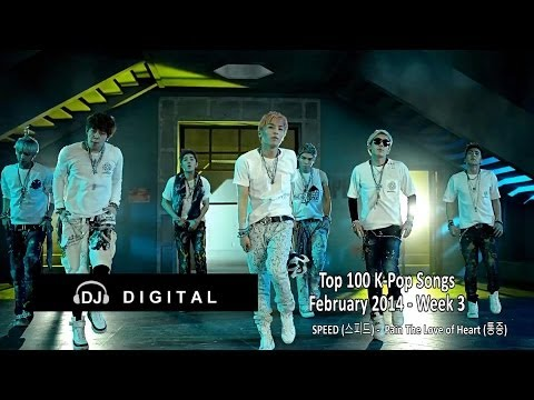 Top 100 K-Pop Songs for February 2014 Week 3