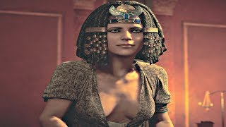Assassin's Creed Origins - Meeting Cleopatra The Queen