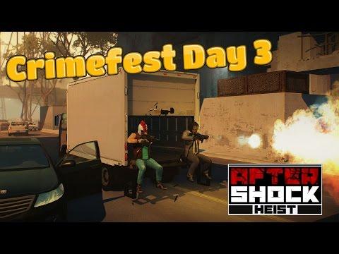 Payday 2: Crimefest - Aftershock Heist: Full Heist Gameplay!