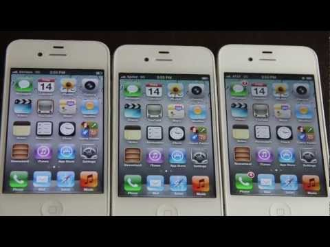 iPhone 4S: AT&amp;T Vs. Verizon Vs. Sprint Speed Test!