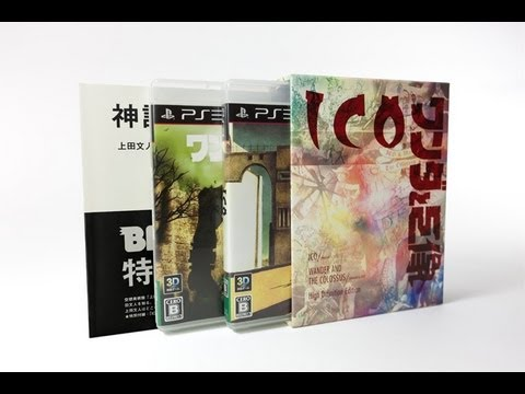 ICO Shadow of the Colossus Limited Box Collection - Unboxing