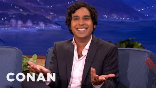Kunal Nayyar Is Adjusting To Married Life - CONAN on TBS