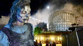 Fright Fest 2018 Opening Night at Six Flags Magic Mountain - Inside All The Mazes / Scare Zones
