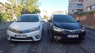 Eski ve Yeni Toyota Corolla 2016 Karşılaştırmalı Test