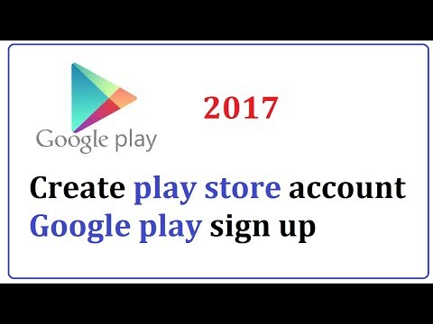 create google play store account  || google play sign up