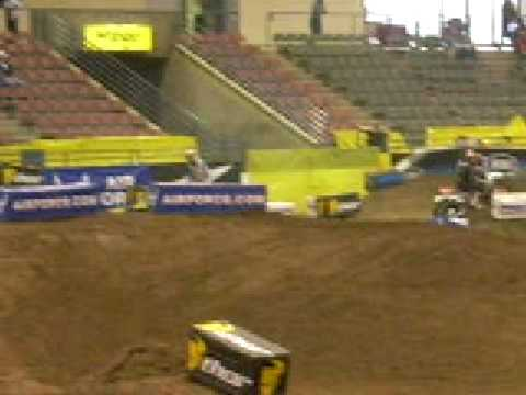 reno arenacross crash 2009