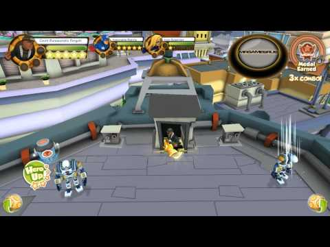 Marvel Super Hero Squad Online Nick Fury Gameplay- HD