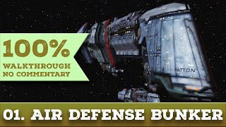 Quake 4 Walkthrough (General Difficulty) part 1 AIR DEFENSE BUNKER