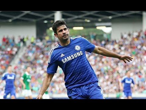 Diego Costa vs Aston Villa (Home) - Goal & Individual Highlights (27.09.2014) HD